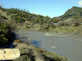 Eel River below Dos Rios