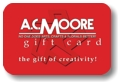 ive a loved one an A.C. Moore arts and crafts gift card
