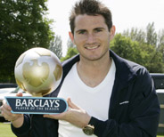 Frank Lampard: Barclays Player of the Year 2004/05
