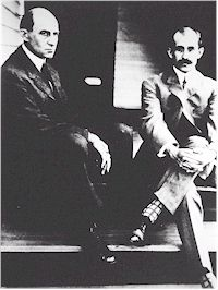 Wilber and Orville Wright (Photo courtesy of NAA)