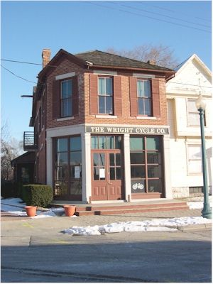 The Wright Brothers' Shop in Dayton (Photo FAI)