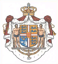 The Danish Royal Coat of Arms was established by Royal Decree of 5 July 1972.