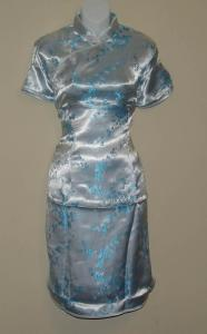 Silver Chinese Dress