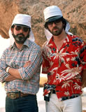 Lucas and Spielberg on location in Tunisia