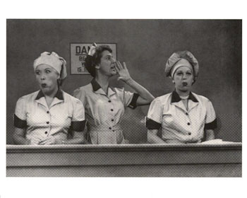 I Love Lucy - job switching