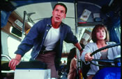 """Speed"" (1996): Whedon is proud also of the extensive work he did on the bus-bound blockbuster, though the Writers Guild of America ultimately stripped him of all on-screen credit."