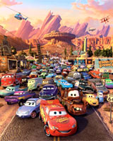 Disney's presentation of Pixar's 'Cars'