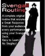 SVENGALI ROUTINE - INSTANT DOWNLOAD