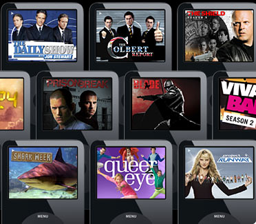 iPods with TV shows