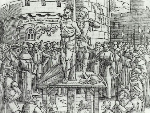 The Execution of John Wycliffe