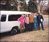 The Band and Moby, our van