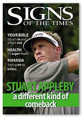 Stuart Appleby Cover November 2004