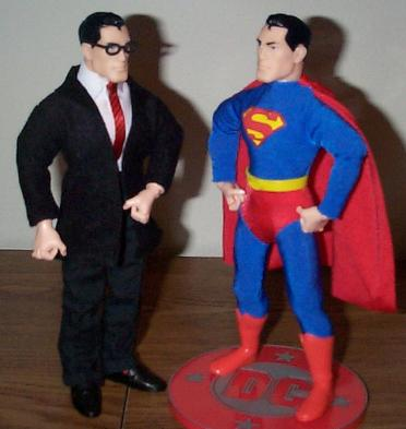 Clark Kent With Superman
