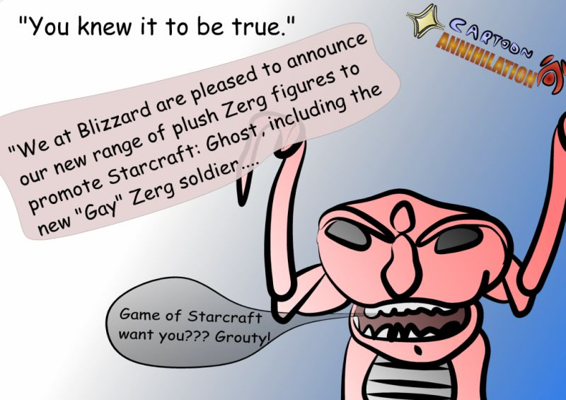 Cartoon Annihilation Comic