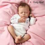 """Ashley So Truly Real Breathing Lifelike Baby Doll - Exclusive Lifelike Baby Doll First! Every """"Breath"""" from Baby Ashley is a Sweet Blessing! A Collectible Andrea Arcello Doll!"""