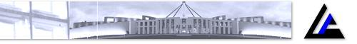 Picture of parliament house with ANAO logo. Click to return to the ANAO homepage.