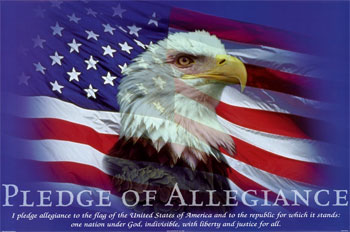 Pledge of Allegiance - buy this art print at AllPosters.com