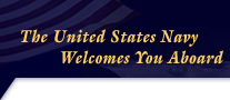 graphic - The United States Navy Welcomes You Aboard