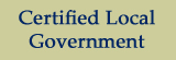 Certified Local Government