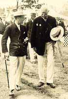 1921 - HRH The Prince of Wales with W D Mackenzie