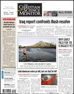 Today's Issue of The Christian Science Monitor