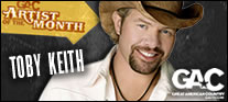 GAC Artist of the Month-Toby Keith