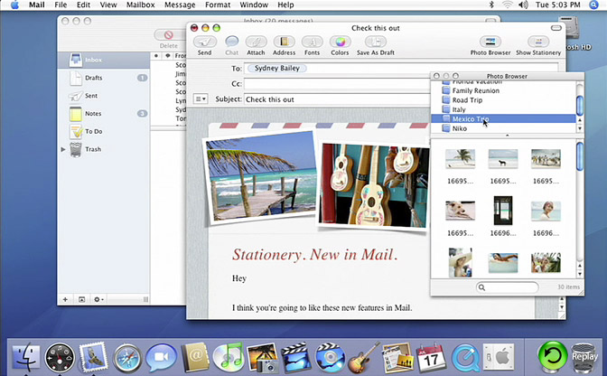 Quicktime Movie of Mail
