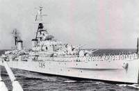 PNS BABUR FIRST PN CRUISER (1957)