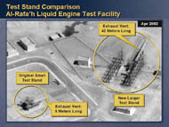slide 35 liquid engine test facility in Iraq