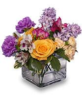 <i>EARLY SPRING FLING</i><br>Flower Arrangement