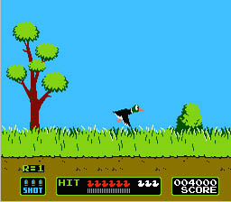 Super Mario Bros. and Duck Hunt Console Game NES ROM Screenshot 4