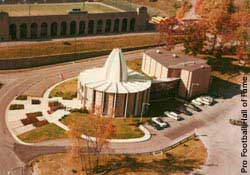 The Pro Football Hall of Fame in Canton, Ohio opened on Sept. 7, 1963.