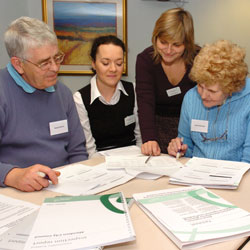 Tenant assessors during an inspection process