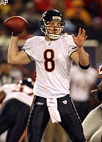 After last week's meltdown, Rex Grossman and the Bears didn't waste any time getting back on track.
