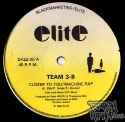 Team 3B - Closer To You / Machine Rap [Elite]