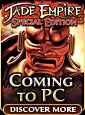 Jade Empire Coming to PC