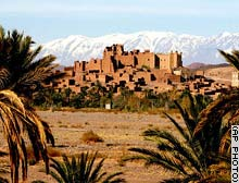 This Kasbah, or old fortress, is now a hotel.
