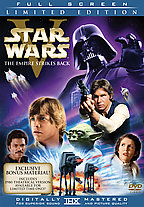 The Empire Strikes Back DVD: 2-Disc Limited Edition; Pan & Scan