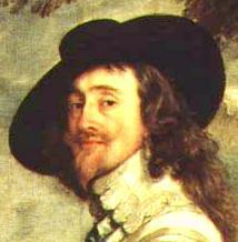 Charles I of England by Anthony Van Dyke -Louvre,Paris