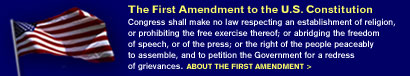 About the First Amendment
