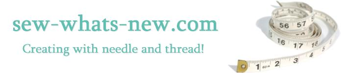 Welcome to Sew What's New