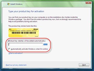 Windows Vista Upgrade Image 1