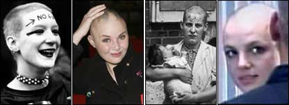 A punk, Gail Porter,  Nazi collaborator and Britney Spears
