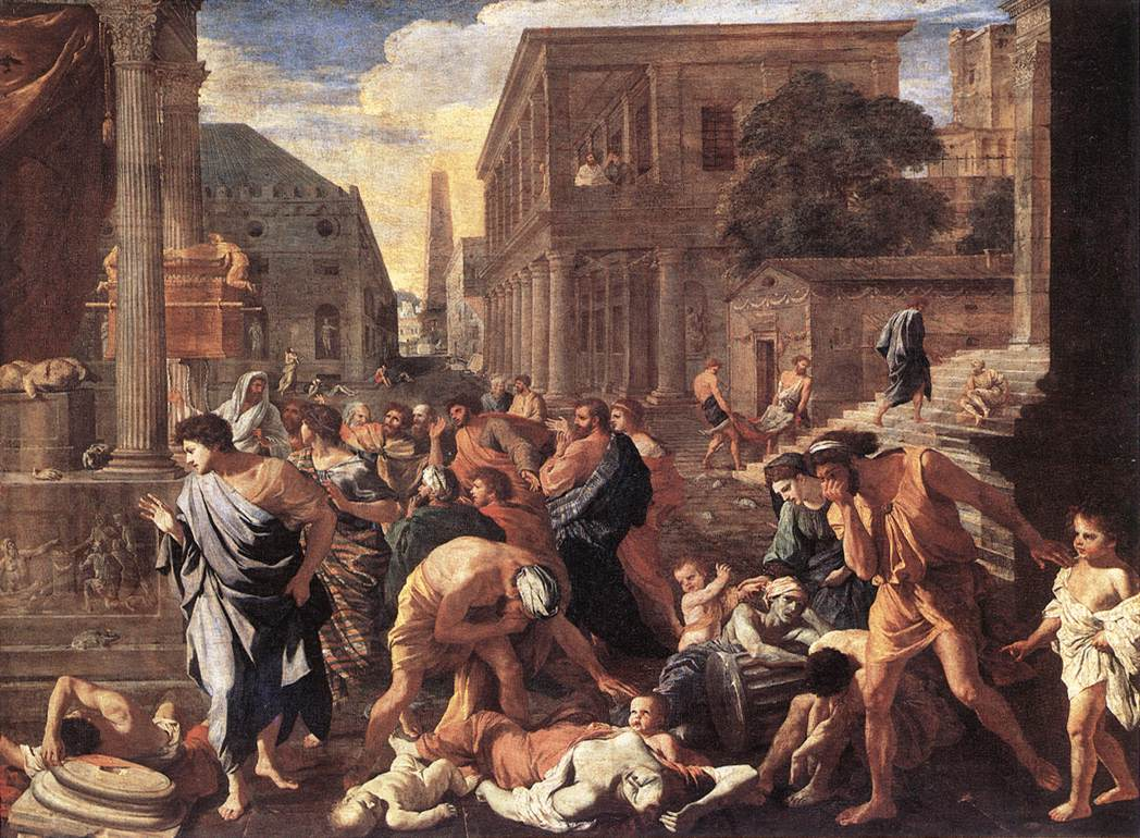 Nicolas Poussin, Plague at Athens