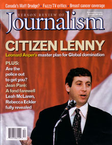 Summer 2001 Front Cover