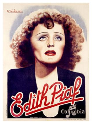 Edith Piaf/Disques Columbia