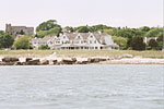the Kennedy Compound in Hyannis Port, as only can be seen from the water