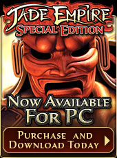 Jade Empire: Special Edition now available for PC