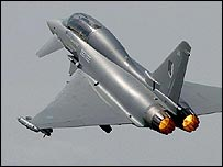 Critics said the corruption probe threatened a major Eurofighter deal