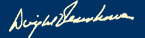 Dwight D. Eisenhower's signature